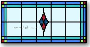 Glas in lood raam kosten